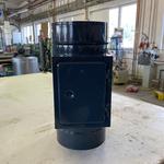 Dvířkový revizní díl o  šíři 0,8 mm na pevná paliva, nástřik RAL MAT černá