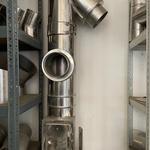Komínové díly - Dvířkový a čistící revizní díl
