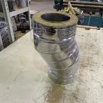 Koleno BGT 30 stupňů pro komínovou sestavu Kaminotherm